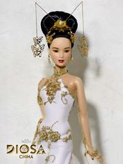 Kwan Yin. Diosa China ( China Goddess) (davidbocci.es/refugiorosa) Tags: kwan yin diosa china goddess barbie mattel fashion doll muñeca refugio rosa david bocci ooak