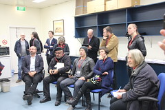 Candidates and campaign organisers - AEC Ballot position draw for #wills2016 at Glenroy (John Englart (Takver)) Tags: democracy election australia victoria wills aec glenroy ausvotes ballotdraw peterkhalil ausvotes2016 wills2016