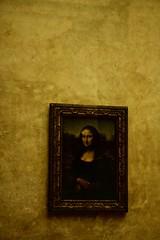 monalisa (benton.crotteau) Tags: paris france painting gold monalisa mueseum lalouvre