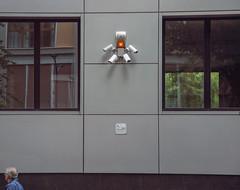 280/365 At gunpoint/Sotto tiro (darioseventy) Tags: windows fire grey grigio cam surveillance security videocamera minimalism minimalismo finestre sicurezza sorveglianza atgunpoint sottotiro