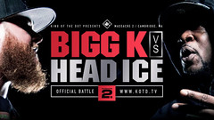 KOTD – Bigg K vs Head I.C.E. | #MASS2... (battledomination) Tags: ice k t one big freestyle king ultimate bigg head pat domination clips battle dot charlie hiphop vs rap lush smack trex league stay mook rapping murda battles | rone the conceited – charron saurus arsonal kotd dizaster filmon mass2 battledomination