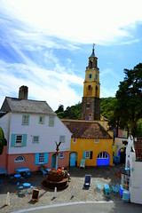 This is what Portmeirion looks like (07-2013) by SEIGAR (21) (Seigar) Tags: uk trip travel viaje color travelling wales photography photo photographer unitedkingdom gales traveller vision postcards portmeirion welsh viajar postales reinounido viajero seigar