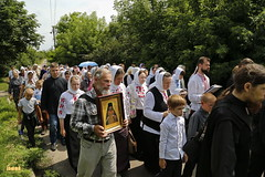 A cross procession from the village of Nikolskoe to the village of Adamovka / Крестный ход из Никольского в Адамовку (16)