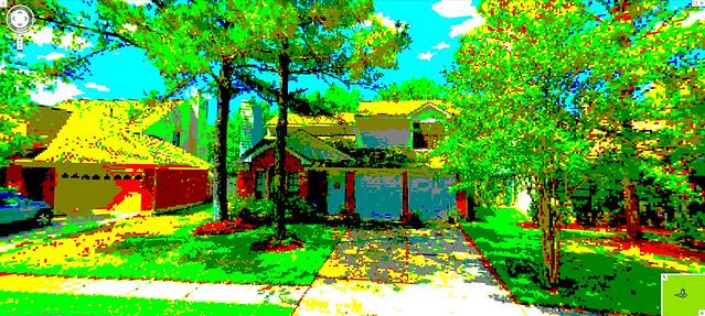8-bit house