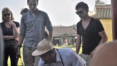 Tour Guide,  Imperial City, Hue, Vietnam (David McKelvey) Tags: vietnam hue 2012