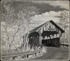 Coburn Covered Bridge (jcbwalsh) Tags: bridge cemetery vermont covered vt montpelier coburn