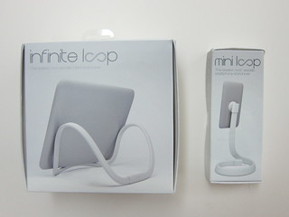 Infinite Loop Tablet and Smartphone Stand