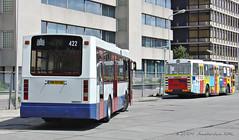 Some minutes before preservation / nieuwe museumbus (Amsterdam RAIL) Tags: amsterdam gvb 422 stadsarchief museumbus garagewest amsterdamrail volvoberkhof vn93sr