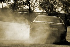 Nissan 200SX S13 Drift (Sascha Bentz) Tags: 2 japan race racecar canon germany eos nissan mark smoke fast racing smoking ii 5d tuning jdm drifting drift rauch 200sx tuned s13 driftcar qualm worldcars