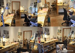 Workshop is finished! Work has begun! (kosmimata) Tags: jewelry workshop kosmimata sophiageorgiopoulou