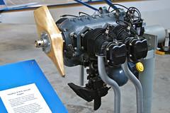 Continental O-170-3 (A-65-8) Engine ... 65 HP (thegreatlandoni) Tags: usa apple museum plane airplane nikon colorado aircraft continental denver aeroplane iphoto airspacemuseum 65hp a65 wingsovertherockies d80 o170