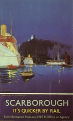 Scarborough (71B / 70F ( Ex Jibup )) Tags: old travel cruise original holiday colour art water ferry pencil vintage advertising dock paint dynamic post postcard ships transport creative picture floating craft vessel brush cargo stamp deck rig posters oil send sail passenger write colourful hull pallet float sketches postage carry tanker funnel liner intresting oilrigmast