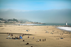 Like Summer Tempests (Standard Deluxe) Tags: santacruz lighthouse beach fog explore frontpage 135mm 135l seabrightbeach canonef135mmf2lusm distantrain