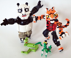 PoAndTheFurious3 (madLEGOman) Tags: mantis jack for monkey panda lego crane 5 five finger no or kitty master po ms kung fu wushu viper charge hold tigress furious awesomeness moc attractiveness mckeen madlegoman madlegoman13