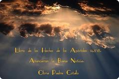 Libro de los Hechos de los Apóstoles 14,5-18.