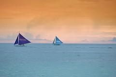 Boracay sailing (jerrylimlee/ pls visit: 500px.com/kiakka64) Tags: sunset sea canon eos sailing philippines boracay llens 5dmkiii 5dmk3 5d3
