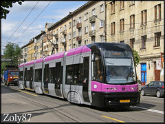 PESA Swing 81 (Zoly060-DA) Tags: tram swing romania cluj napoca 81 pesa ratuc