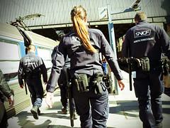 LA FERRO (nARCOTO) Tags: paris saint train police sncf lazare ferroviaire surete