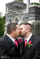 Portrait Project  Week 23: Raul and Greg (dreadpiraterose) Tags: newyorkcity wedding centralpark belvederecastle marriageequality portraitproject2012