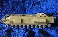 Lego Churchill MK II Infantry tank (The Brickologist) Tags: lego the churchilltank legoww2 legoww2tanks brickologist legochurchilltank legochurchillinfantrytank