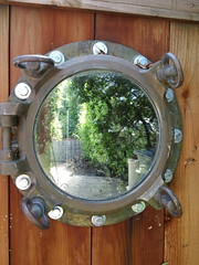 porthole in the fence (flora-file) Tags: california plants garden tour gardening wildflowers horticulture natives bringingbackthenatives