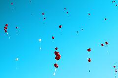love is in the air (Martin.Matyas) Tags: red sky love canon austria heart symbol air ballon herz liebe farbenfroh canonefs1785isusm eos7d