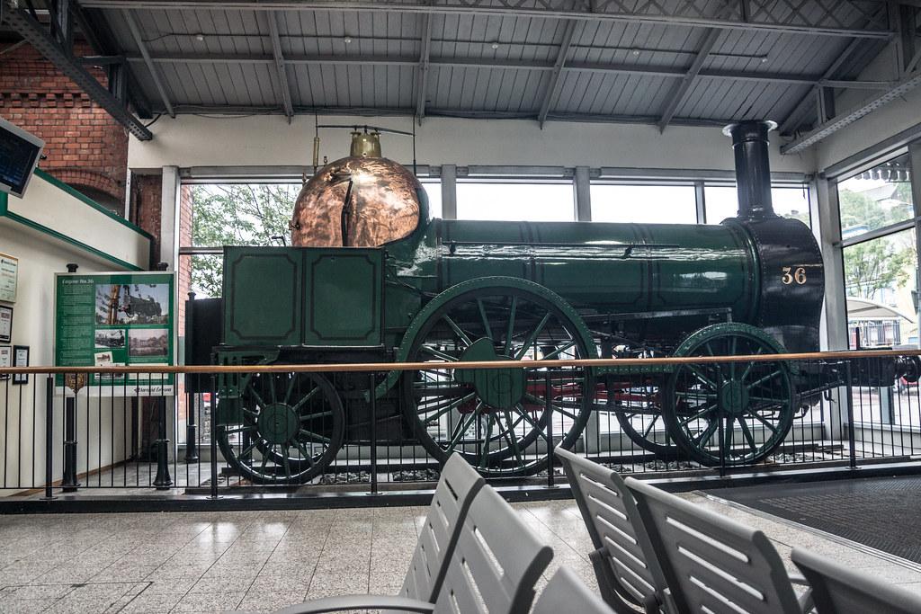 Old Steam Engine - Kent Railway Station (Cork City)