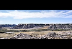 Horse Thief Canyon (ThePieCo) Tags: canada landscape view scene oasis drumheller alberta badlands overlook