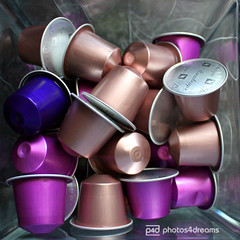 so many nespresso moments ahead (photos4dreams) Tags: pink color coffee colorful purple kaffee espresso colourful bunt violett nespresso capsules arpeggio kapseln photos4dreams photos4dreamz naora p4d rosabaya