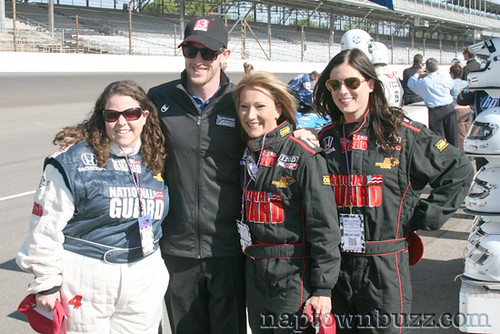 """Amanda Groce, Charlie Kimball, Jennie Runevitch & Leslie Bailey (l-r) • <a style=""""font-size:0.8em;"""" href=""""http://www.flickr.com/photos/78612590@N05/7217042076/""""  on Flickr</a>"""