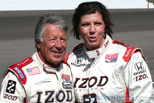 """Tammy Lively with Mario Andretti • <a style=""""font-size:0.8em;"""" href=""""http://www.flickr.com/photos/78612590@N05/7217042820/""""  on Flickr</a>"""