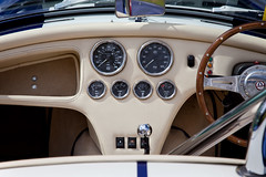 Dax Tojeiro (<p&p>photo) Tags: life blue white classic cars car museum club rural scotland classiccar cobra glasgow may scottish 1999 replica national kit dashboard speedo ac museums speedometer classiccars whitestripe 57 dials dax kitcar 2012 whitestripes eastkilbride accobra classiccarshow revcounter 57litre tojeiro accobrareplica nationalmuseumsscotland 5700cc scottishkitcarclub nationalmuseumofrurallife may2012 daxtojeiro kitcarclub