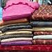 I colori dei tessuti nel mercado indigeno di Saquisilí