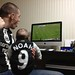 "gaotw0050<br /><span style=""font-size:0.8em;"">Dad Aaron and baby Noah, watching the match in Japan!</span> • <a style=""font-size:0.8em;"" href=""http://www.flickr.com/photos/68478036@N03/7242137582/"" target=""_blank"">View on Flickr</a>"