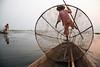 Traditional Fishing - Inle Lake, Myanmar (Maciej Dakowicz) Tags: sunset sea lake classic net water work boat fishing fisherman asia southeastasia fishermen burma traditional scenic myanmar inlelake inle burmese