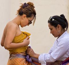 Its a wrap (coqrico) Tags: ladies woman girl fashion lady female design women style siamese dressing rico fabric thai material cloth leffanta