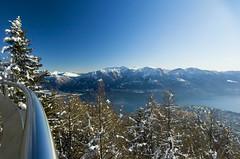 La passerella di Cardada (Cardada Cimetta) Tags: panorama vista passerella promontorio cimetta cardada paesaggistico