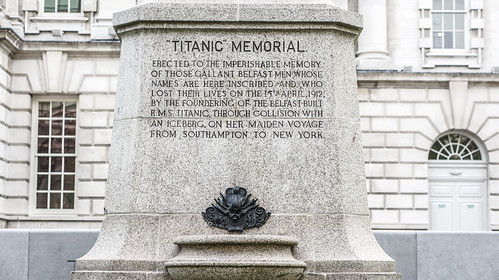 Titanic Memorial - Belfast City Hall - May 2012
