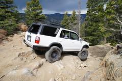 Jack's 4Runner making it look easy (ThomasWalker) Tags: moab isuzu vehicross finsnthings
