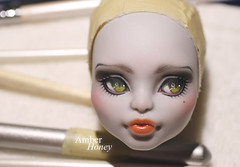 Done~ (Amber-Honey) Tags: monster werewolf amber high mod doll cam honey custom mattel creat repaint