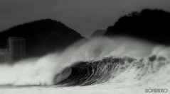 Winter Copacabana RJ (RioParadiso Studio) Tags: sea brazil bw white storm black praia beach nature rio brasil de landscape mar waves janeiro natureza wave playa paisagem copacabana swell onda tempestade ressaca mygearandme flickrstruereflection1 flickrstruereflection2 flickrstruereflection3 flickrstruereflection4 flickrstruereflection5