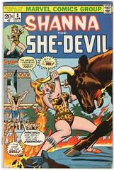 Shanna the She-Devil 3 (FranMoff) Tags: bull comicbooks marvel shanna junglegirl shedevil junglewomen