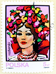 beautiful stamp Poland Polska 5 zt zloty Rozbarski national costume headdress (Oberschlesien Kattowitz, Katowice) znaczki znaczkw pocztowych Polska blyeg Lengyelorszg Briefmarken Polen   5zt francobolli Polonia timbre    (stampolina) Tags: flowers color beautiful face wonderful postes hair colorful head stamps gorgeous poland polska stamp polen lovely katowice nationalcostume tem polonia postzegel headdress selo bolli pologne sello sellos silesia zloty briefmarken  polsko frimrken briefmarke  francobollo selos puola plland timbres lenkija frimrker  francobolli bollo  zegels  kattowitz  zegel polija polandia znaczki markica   rozbark uppersilesia perangko frimerker oberschlesien   pullar timbru      blyegek antspaudai raztka rozbarski
