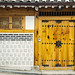 An amazing front door in Bukchon