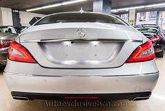 Mercedes CLS 350 CDI BE Coupè - Plata Iridio - Piel Negra