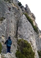 Escalando en Pancorbo