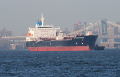 ARDMORE SEAVANGUARD in New York, USA. April, 2014 (Tom Turner - SeaTeamImages / AirTeamImages) Tags: city nyc usa newyork port bay harbor marine ship unitedstates harbour transport anchorage pony maritime transportation anchor bigapple tanker tomturner ardmoreseavanguard