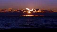 December sunset over the sea (Liuskasaari, Helsinki, 20151226) (RainoL) Tags: winter sunset sea sky cloud sun seascape clouds finland geotagged helsinki december helsingfors fin ullanlinna uusimaa 2015 nyland liuskasaari ulrikasborg skifferholmen 201512 20151226 geo:lat=6015072813 geo:lon=2494781613
