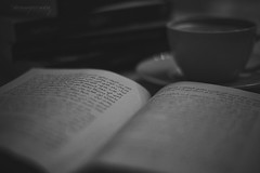 Novel & Coffee (abdalmajeedTM) Tags: coffee photography reading book cafe nikon tea uae books arabic novel saudiarabia novels          d5300