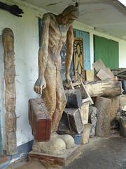 P1000850 (mjaniec) Tags: sculpture rzeba